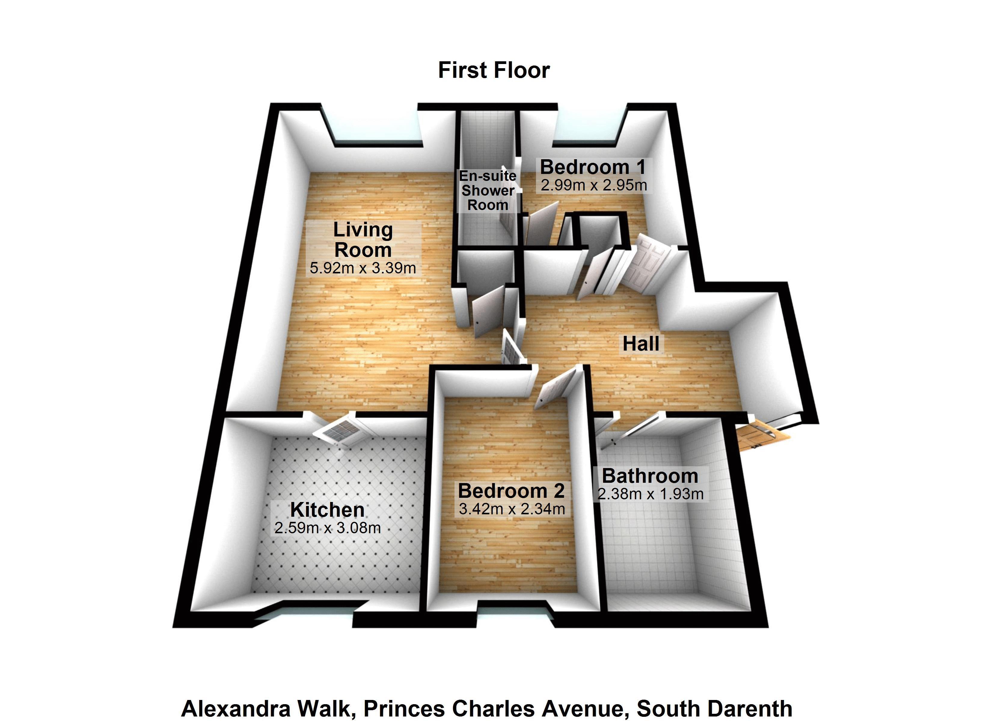 Alexandra Walk, Prince Charles Avenue South Darenth