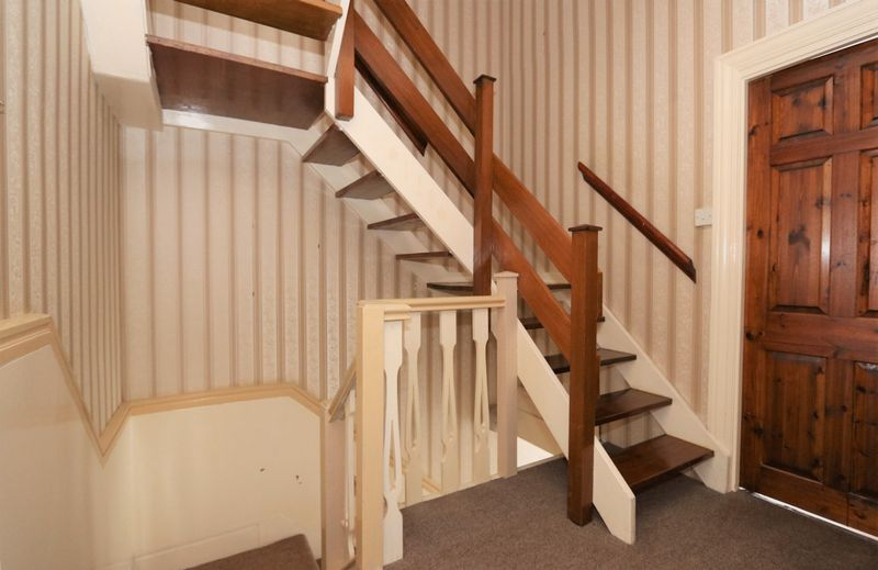 Stairs to loft rooms