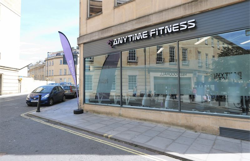 Nearby fitness centre