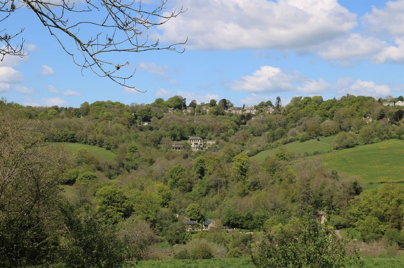 View to Combe Down