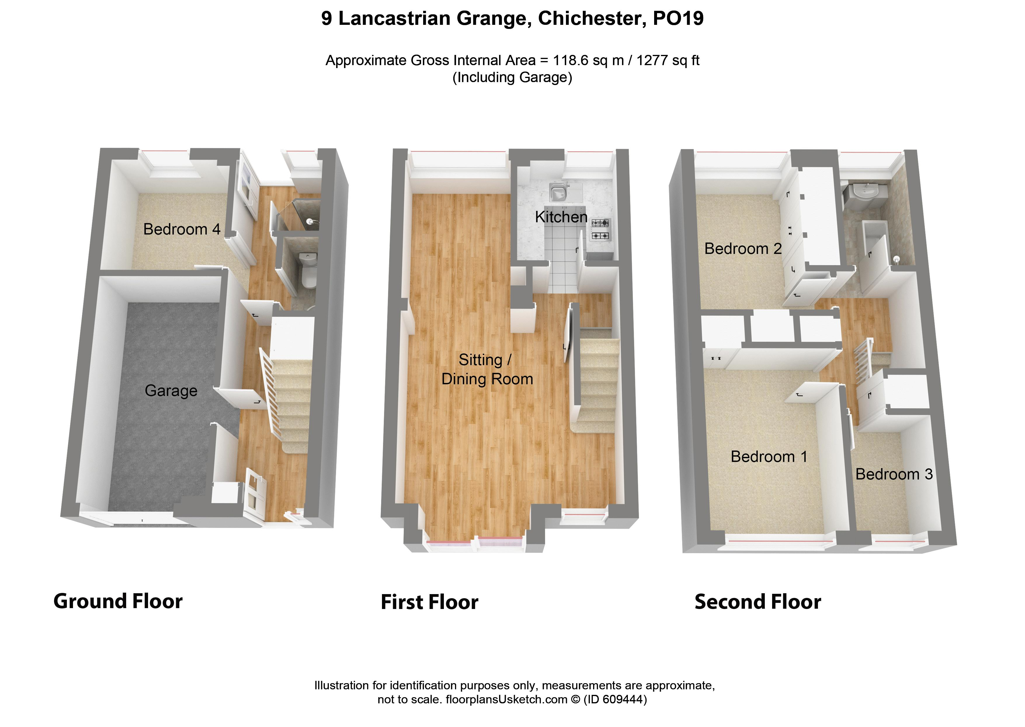 Lancastrian Grange, Tower Street