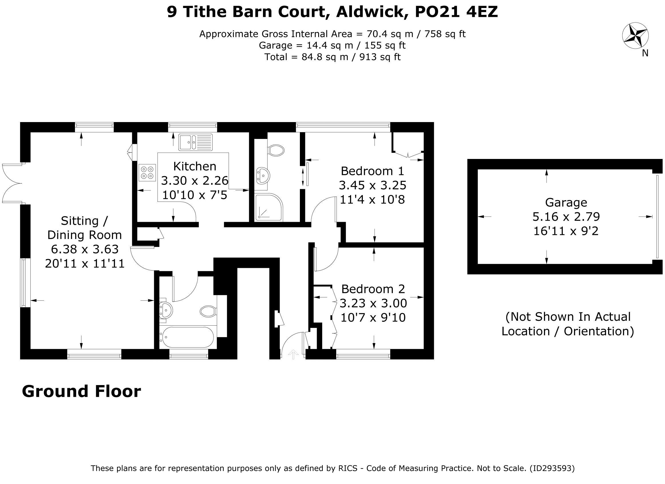 Tithe Barn Court Aldwick Bay Estate