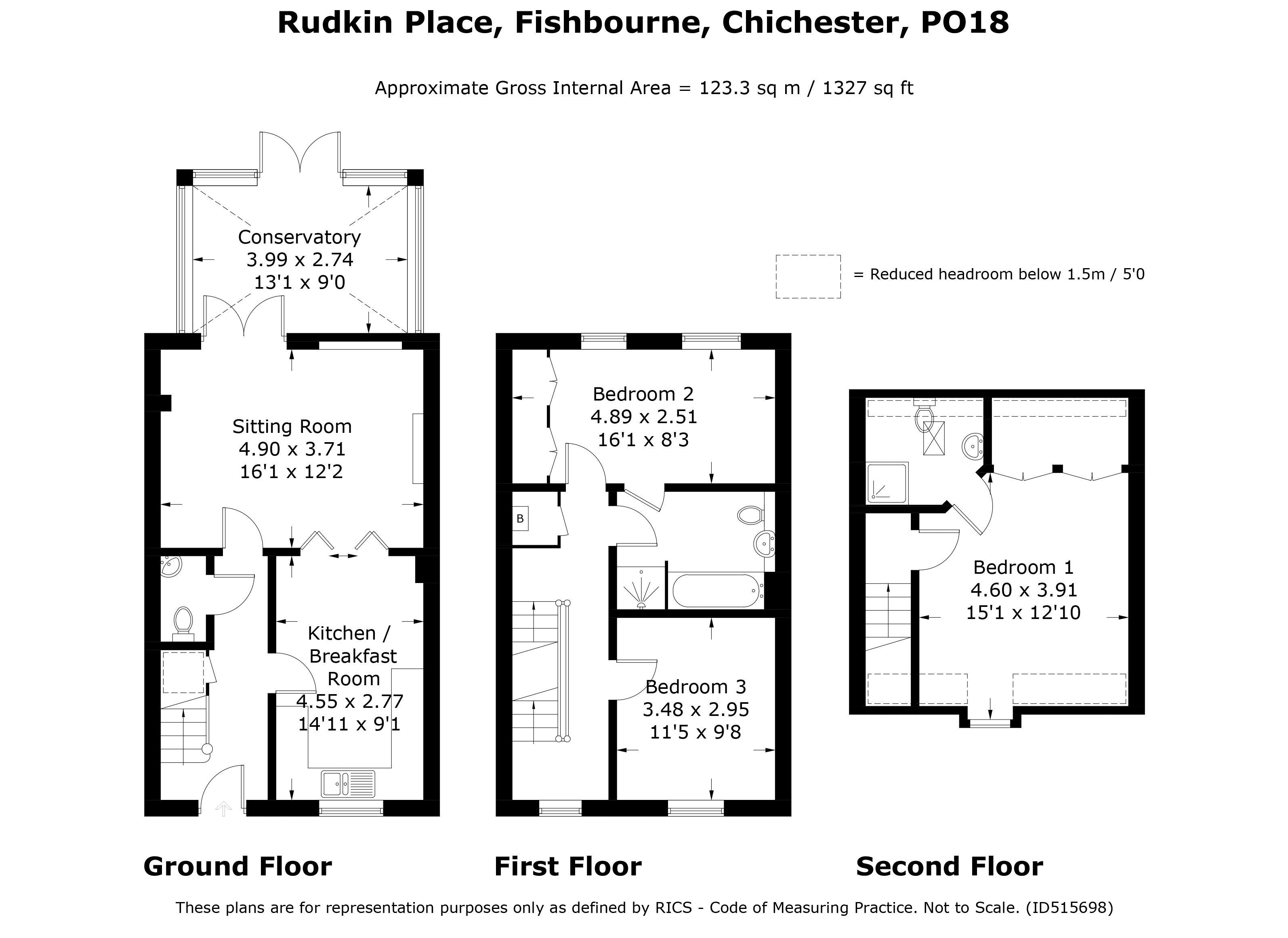 Rudkin Place Fishbourne