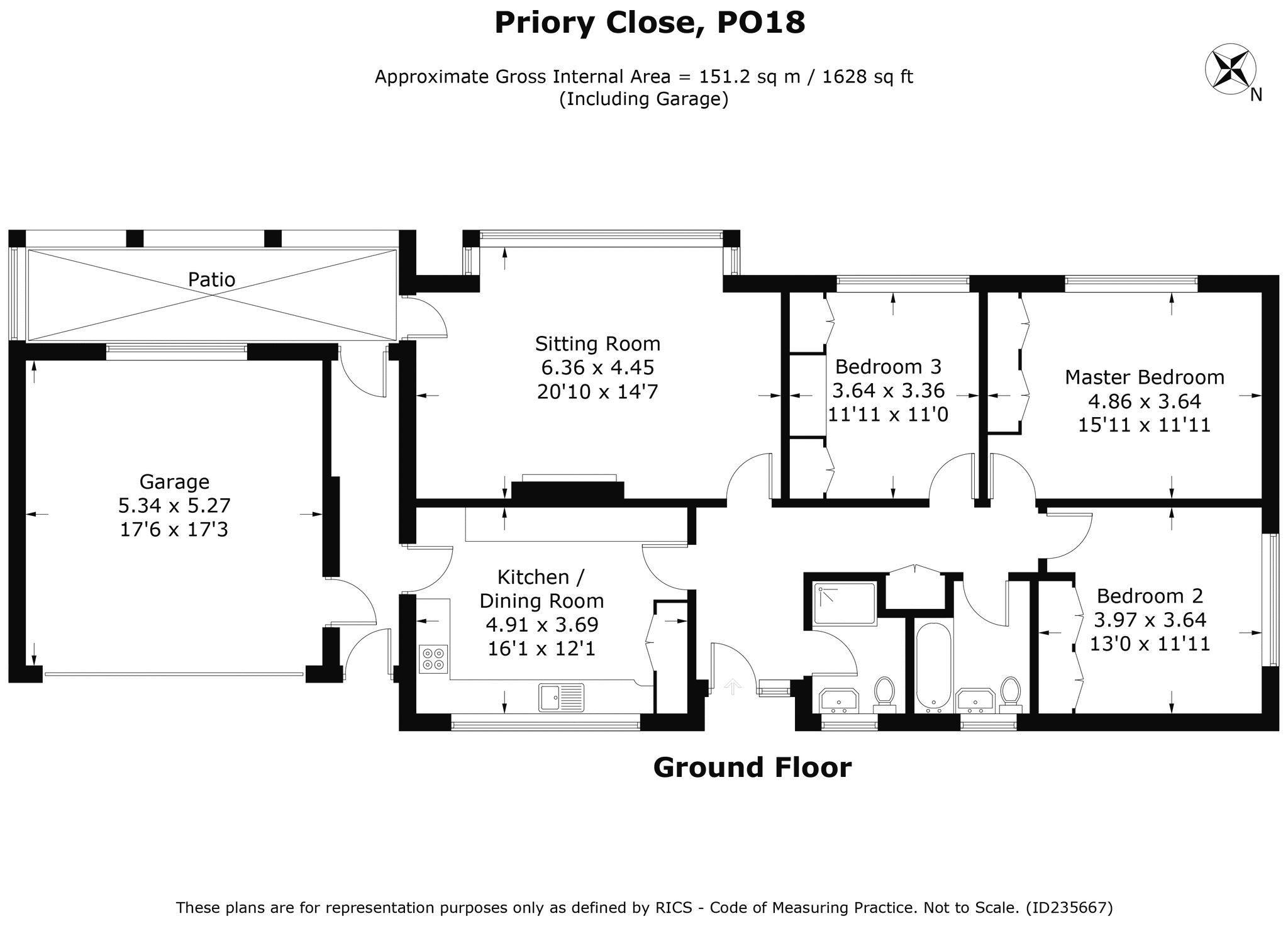 Priory Close Boxgrove