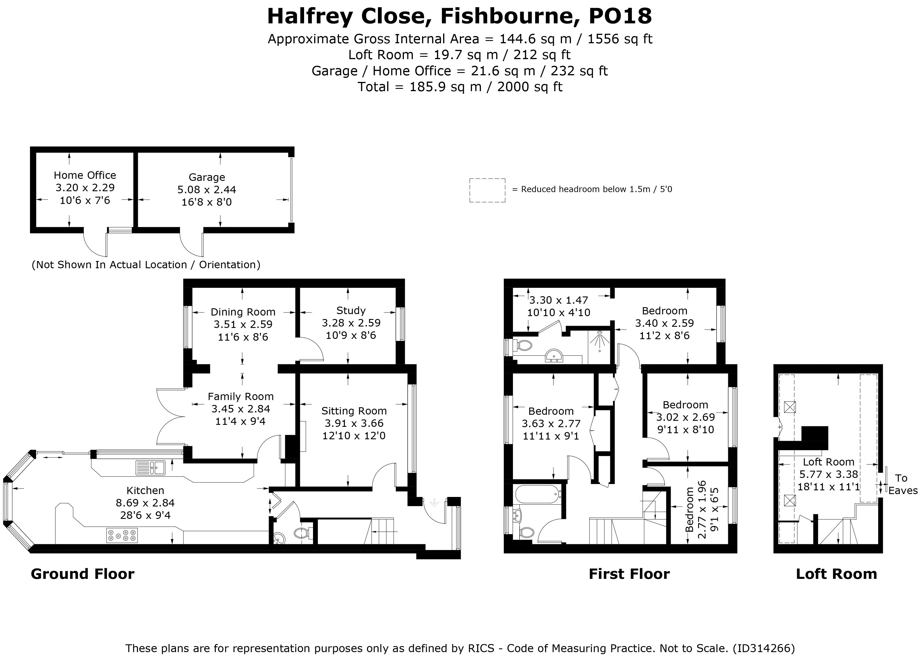 Halfrey Close, Fishbourne