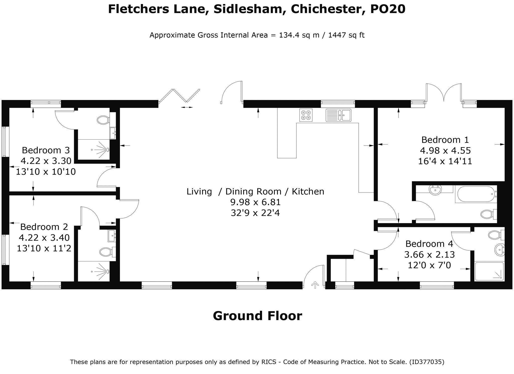 Fletchers Lane Sidlesham