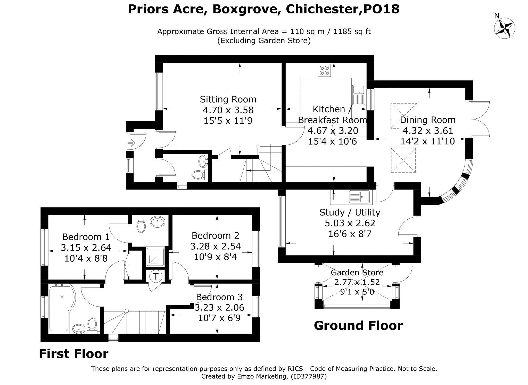Priors Acre Boxgrove