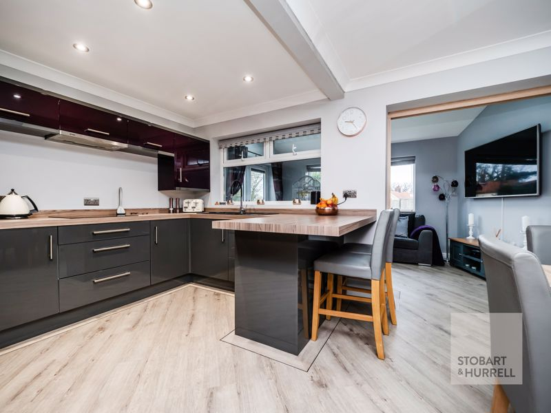 Kitchen Diner Through To Sitting Room