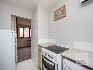 Kitchen Through To Lounge Bedroom