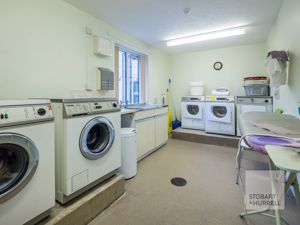 Former Picture of Resident's Laundry Room