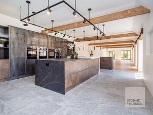 Kitchen To Lounge Open Plan
