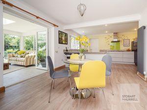 Dining Area through Kitchen Diner & Garden Room