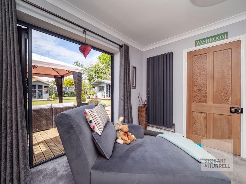 Master Bedroom Garden Access