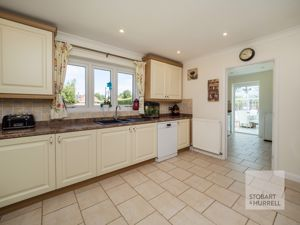 Kitchen Through to Utility & Conservatory
