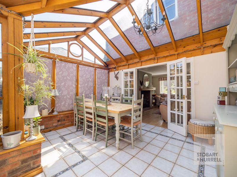 Conservatory To House
