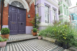 Tiled Path and Front Garden