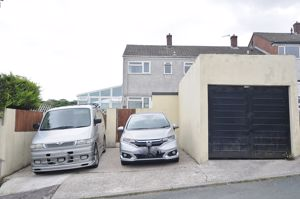 Garage and Double Driveway