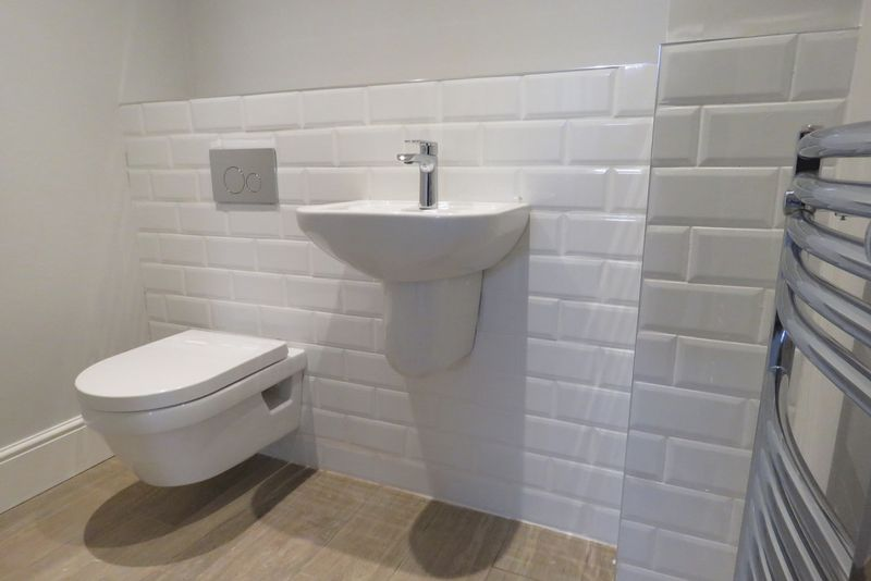 Cloakroom with Villeroy & Boch sanitaryware