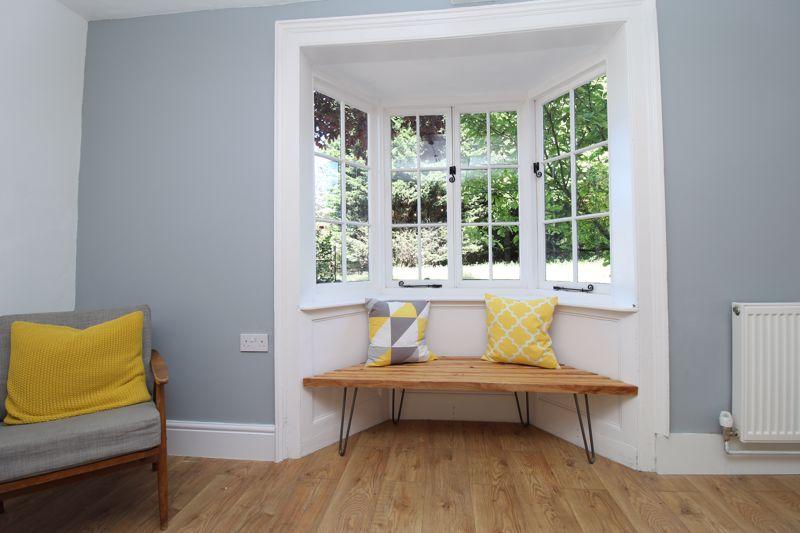 Family room bay window