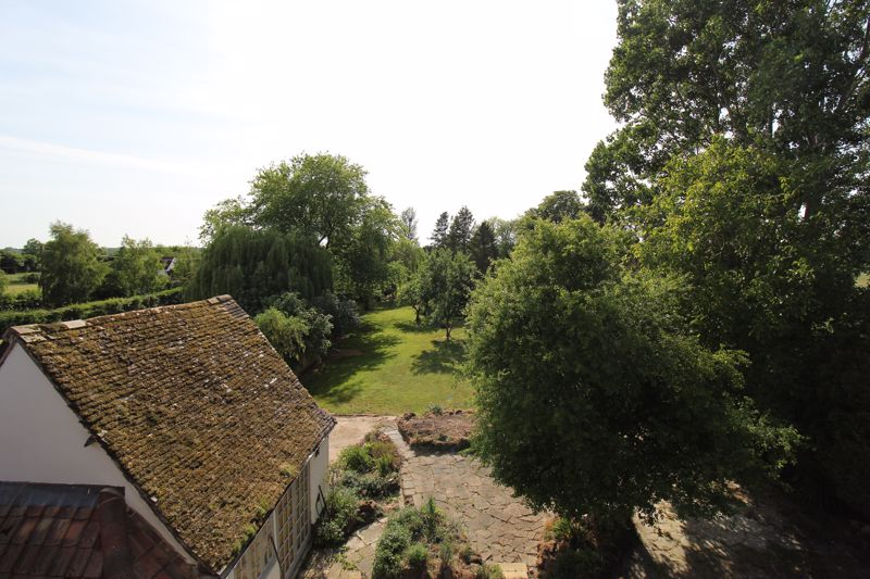 View from second floor window