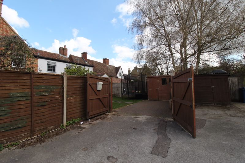 Gated Rear Access / Parking