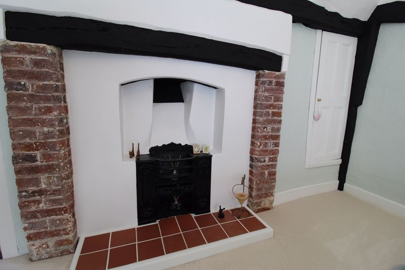 Bedroom Two Fireplace