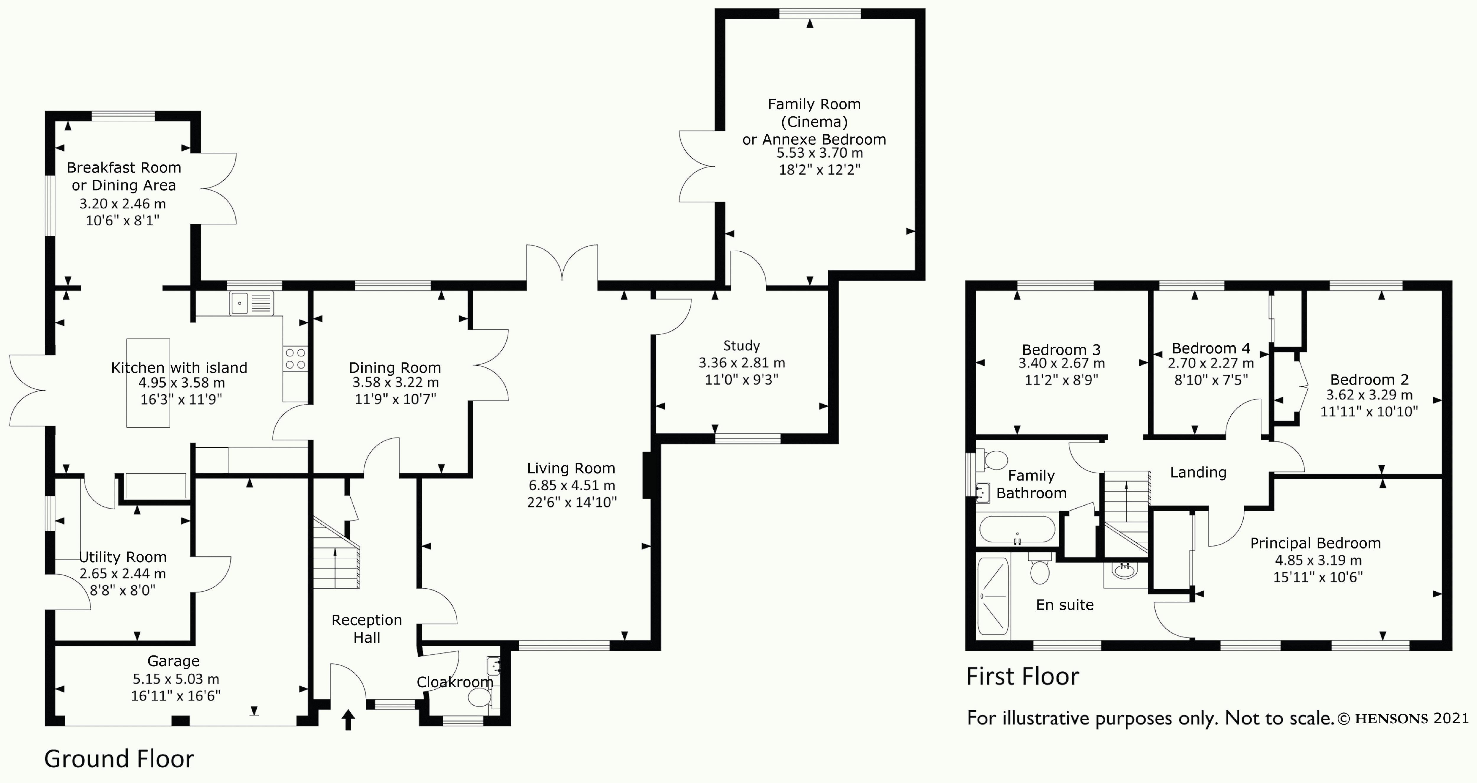 Extesive accommodation