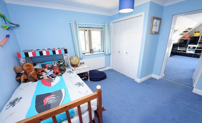 Double room to playroom