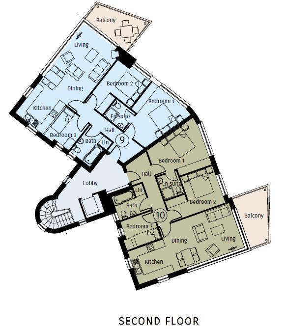 Apartment 9 Pier Head