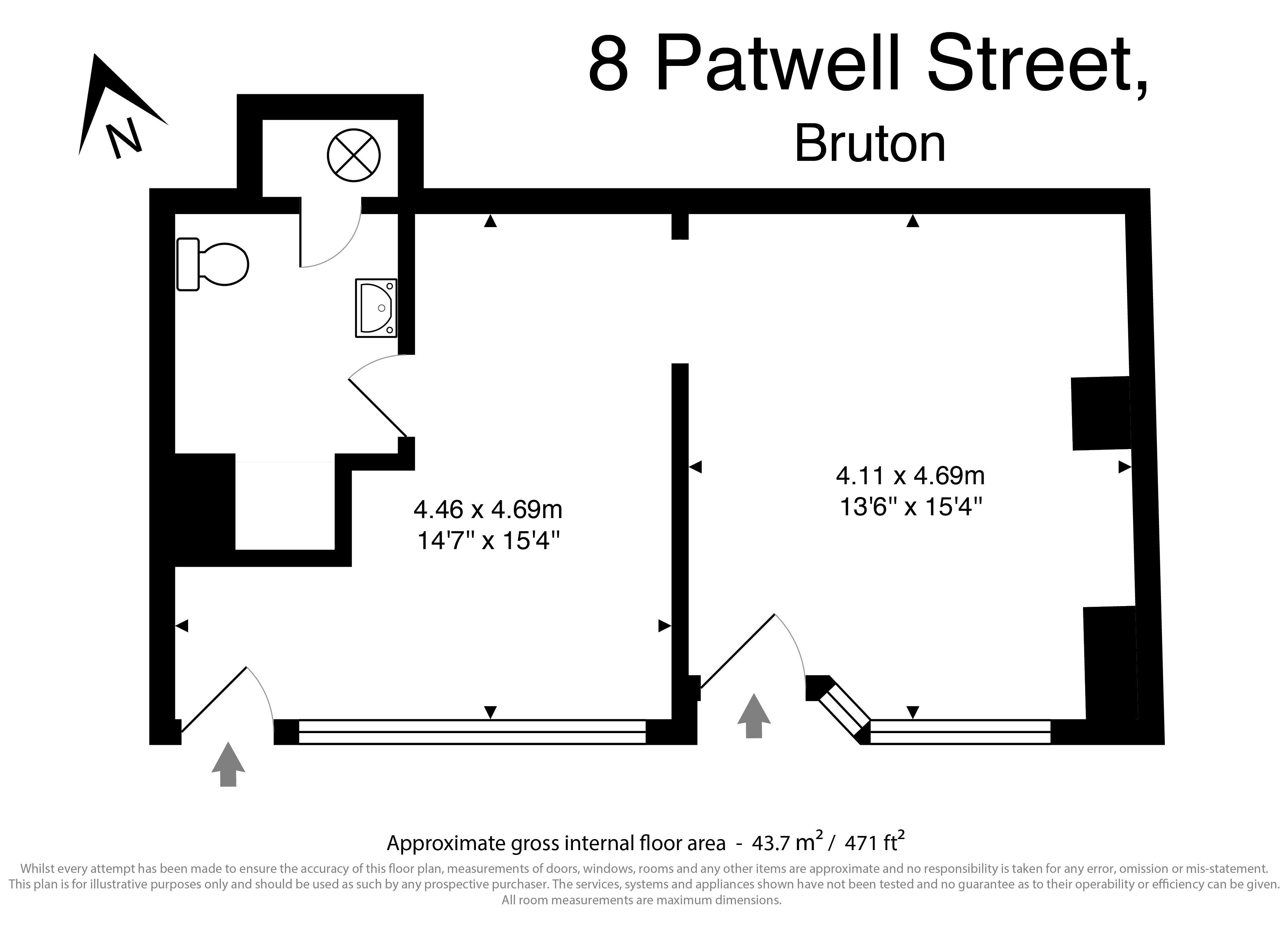 8 Patwell Street Floorplan