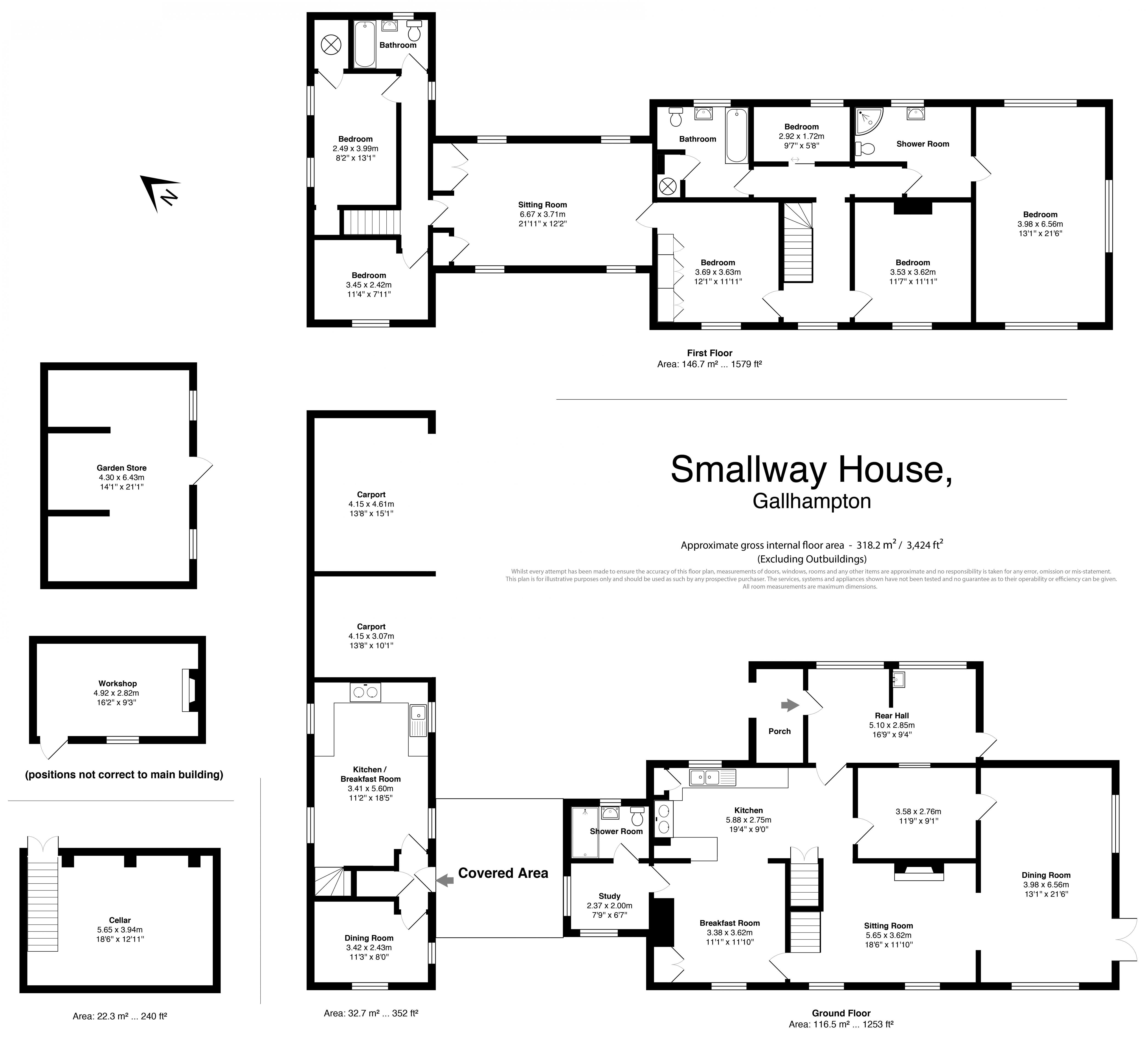 Smallway House floorplan
