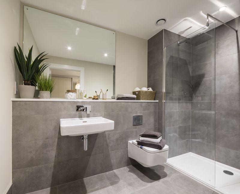 Show home en-suite shower