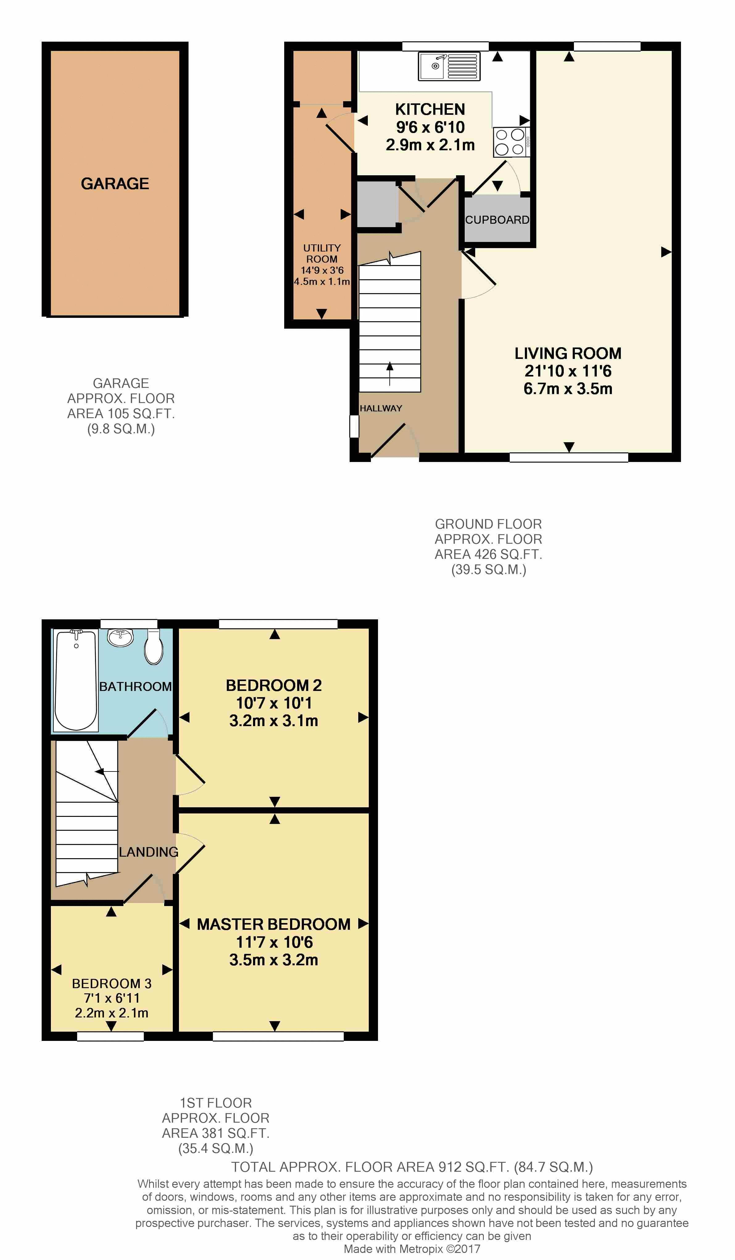 2d Colour Floorplan