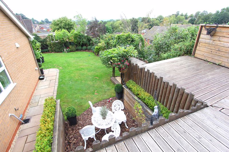 View from rear decking