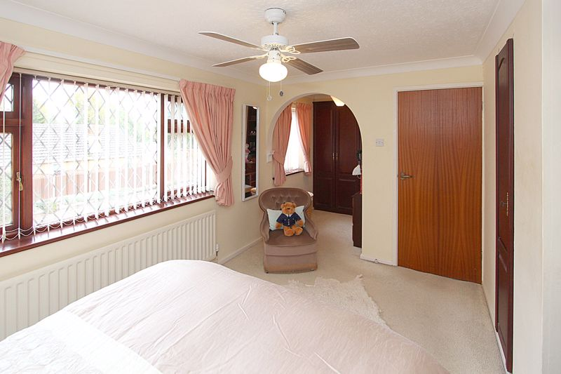 Bedroom 1 (alternative view showing dressing room)
