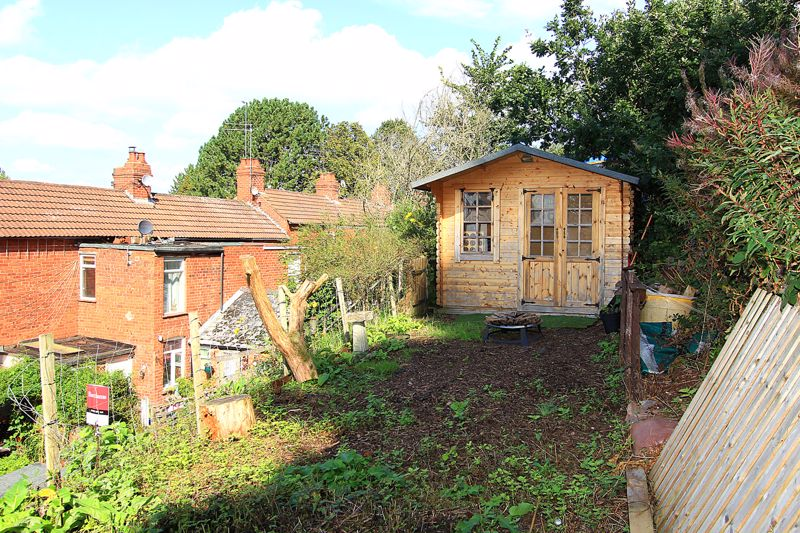 Upper Garden Terrace with Cabin