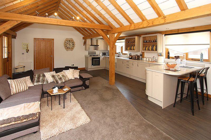 Annexe 3/Log Cabin Living Room