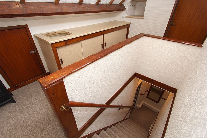 Staircase to Attic Room