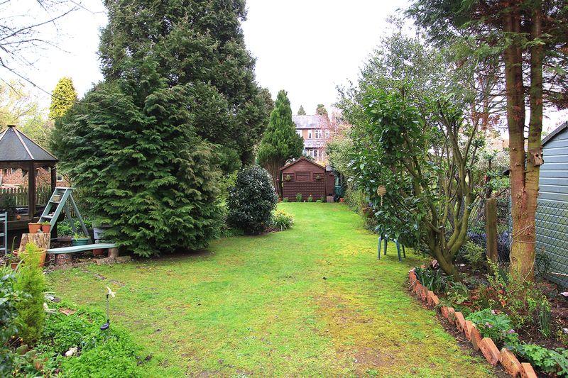 Top of rear garden