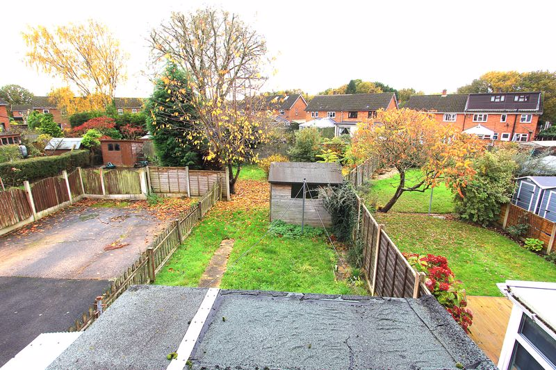 Rear Garden from first floor