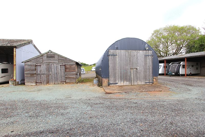 Shed and Nissen Hut