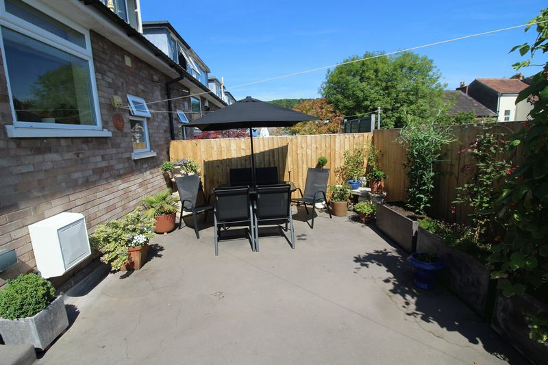 Rear Garden Terrace
