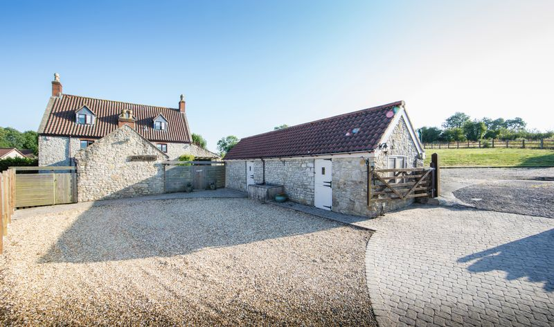 Driveway and Stable Block