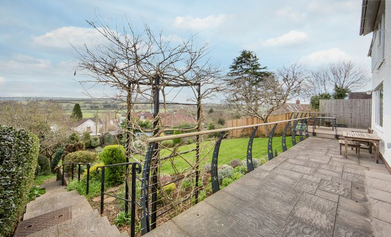 Rear Terrace, Garden & Views