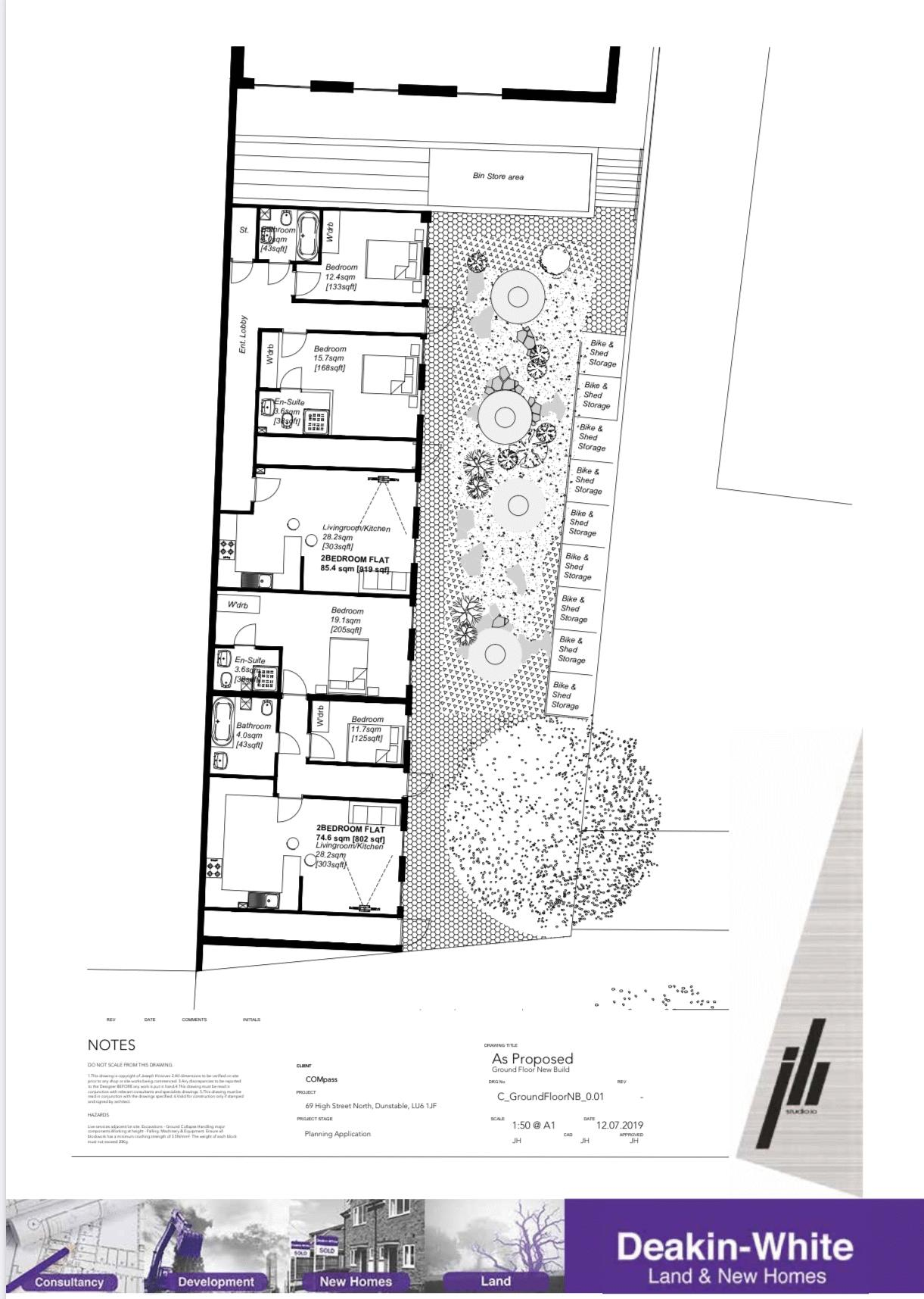 Ground Floor New Build Plan