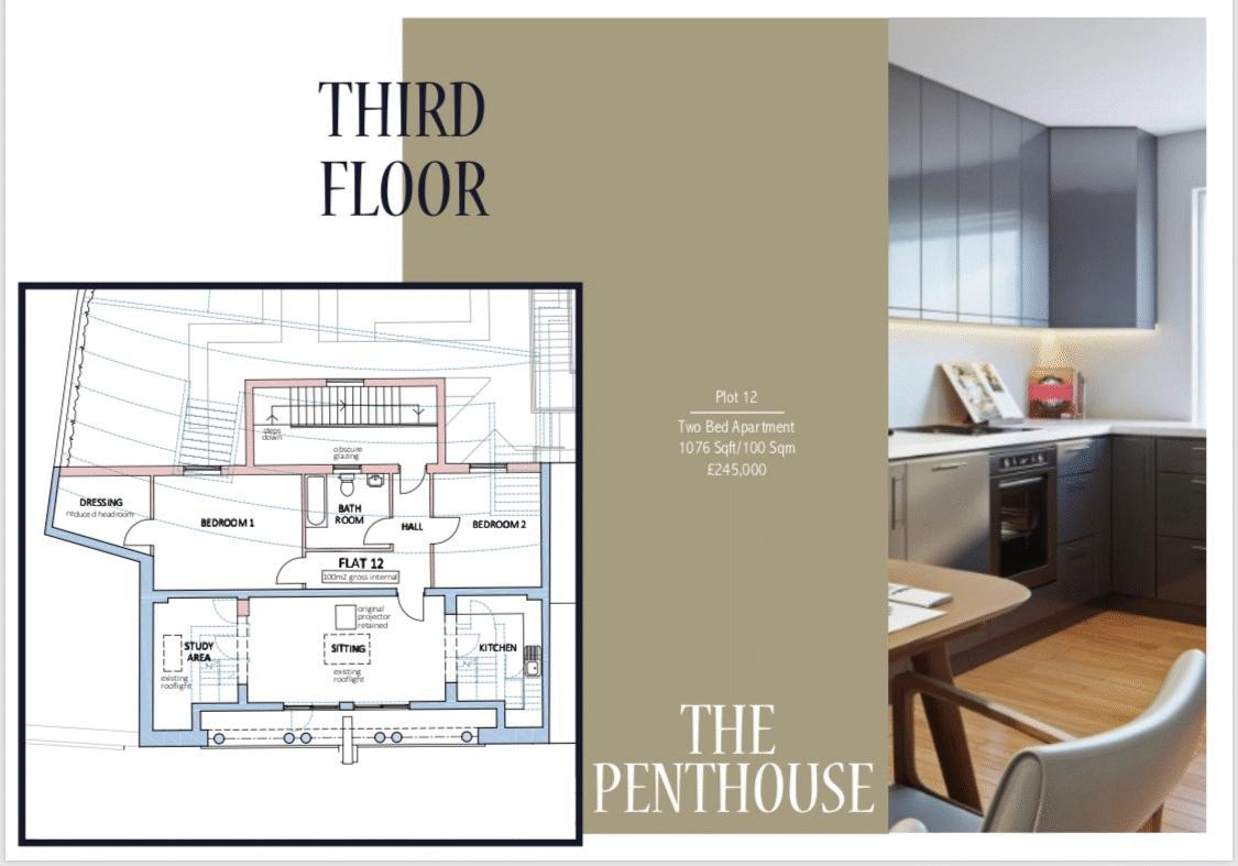THIRD FLOOR (PENTHOUSE)