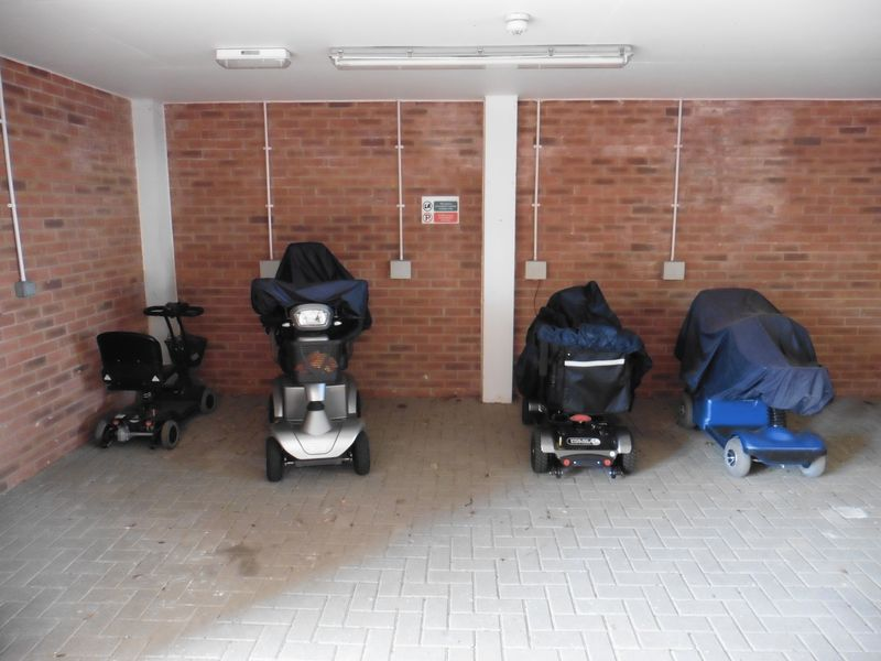 Mobility Scooter Parking