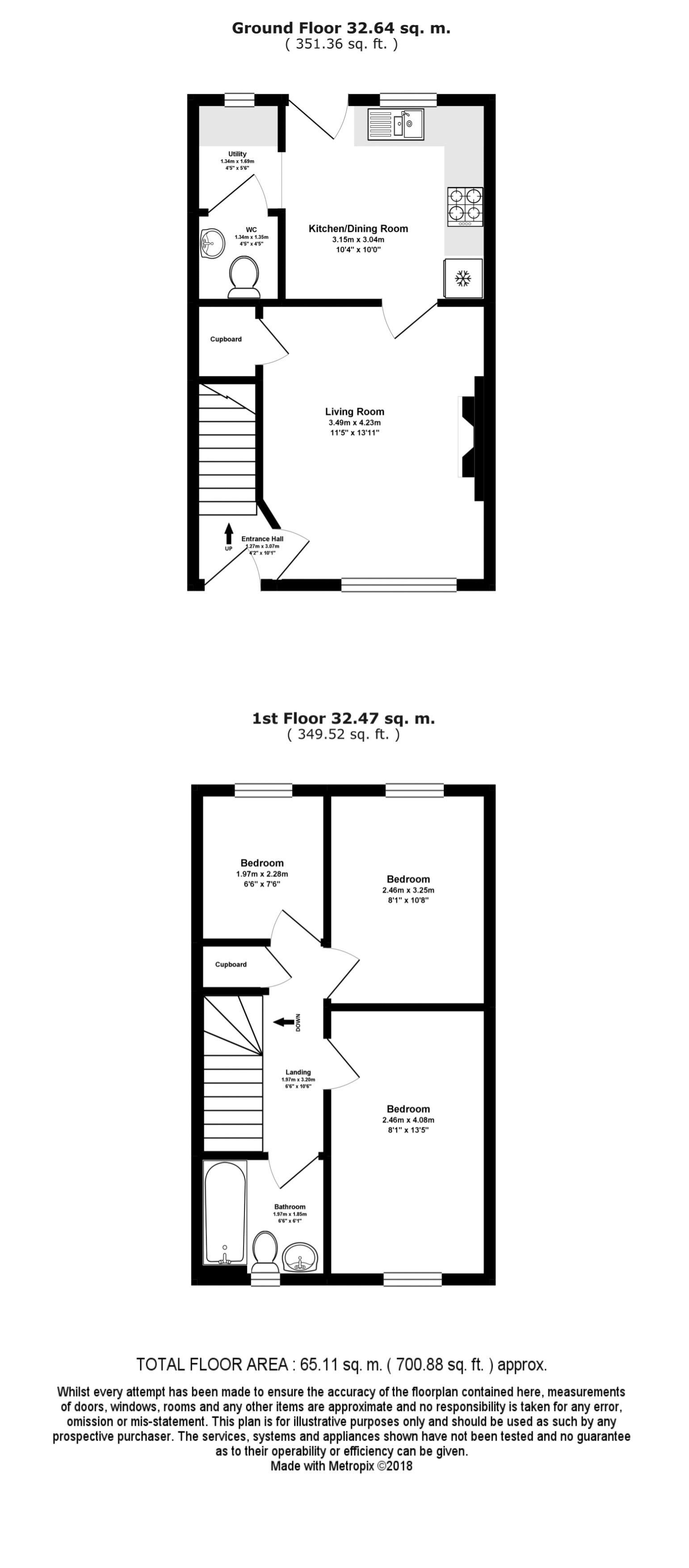 41 Trenoweth Floor Plan