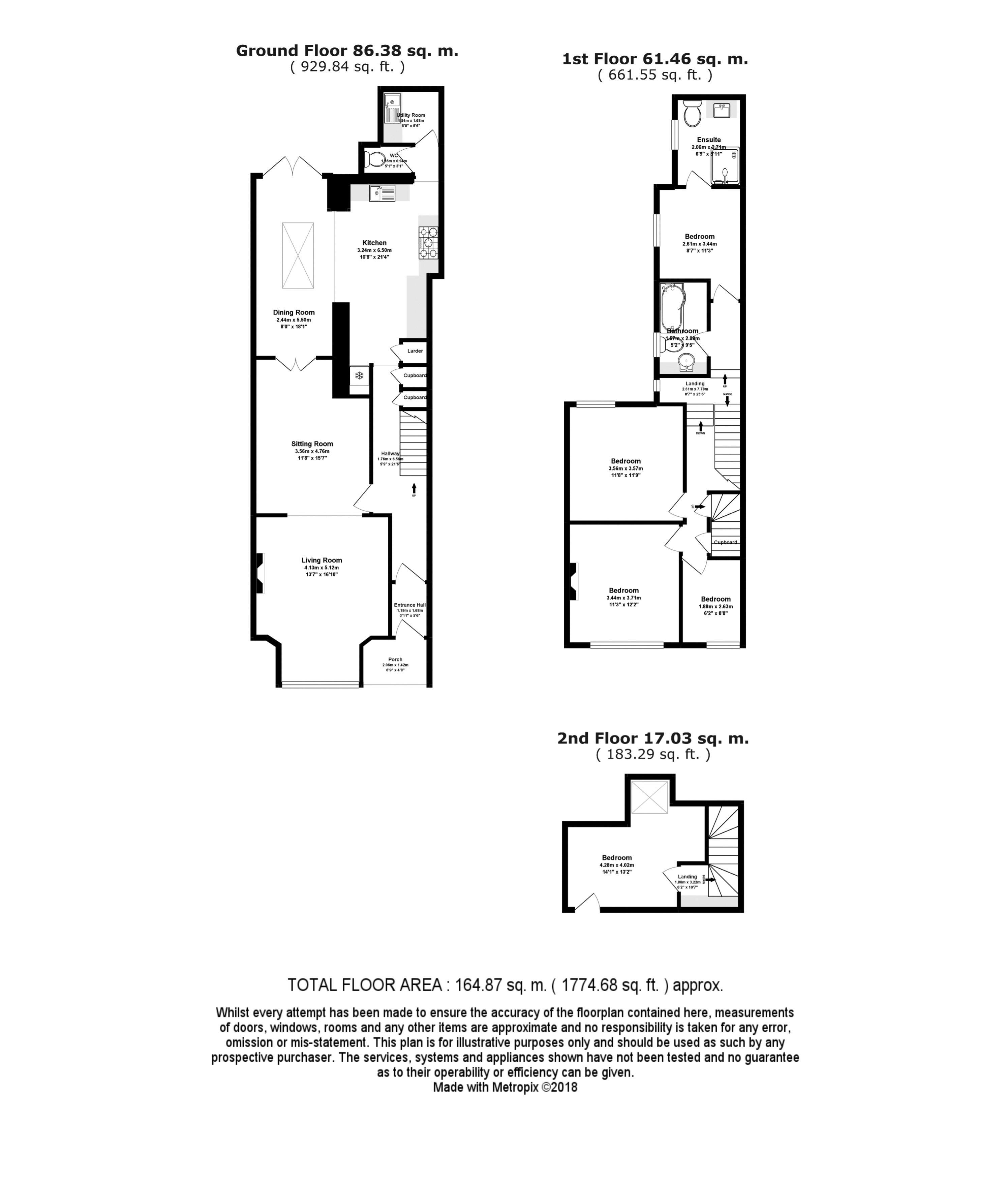 13, Western Terrace Floor Plan