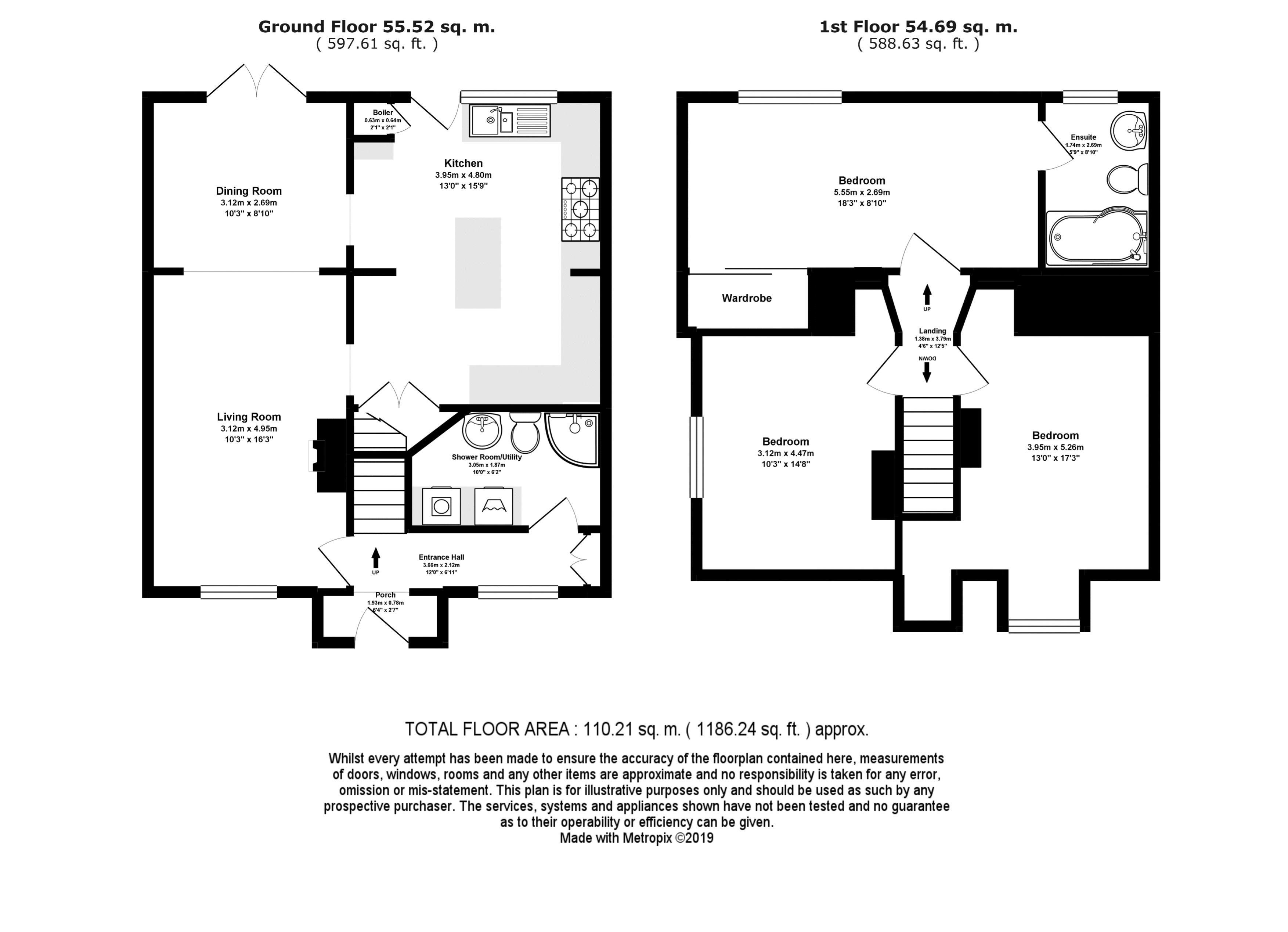 East Rise Floor Plan